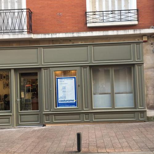 façade magasin en bois