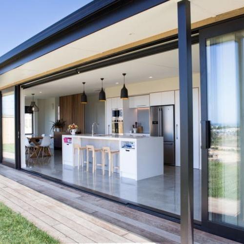 Baie -vitrée- grande- portée- réalisé- par- notre- partenaire -Fabricant RO