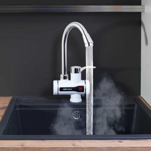 Robinet à production eau chaude avec marqueur digitale
